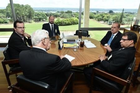Reunião em Brasília, com Ministro da Casa Civil
