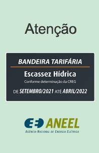 BANDEIRA TARIFÁRIA ANEEL